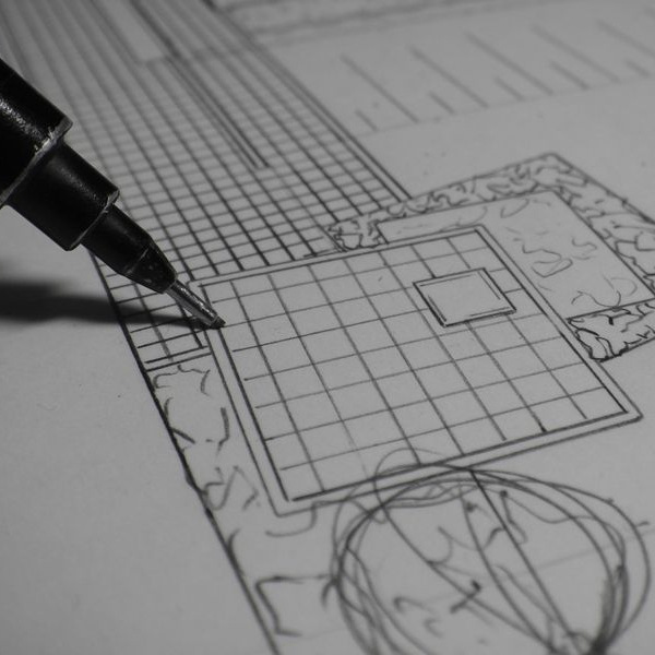 Havearkitekter & haveplaner. Havedesign tegnet af havearkitekt.
